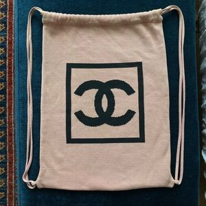 Chanel Drawstring Backpack Bag